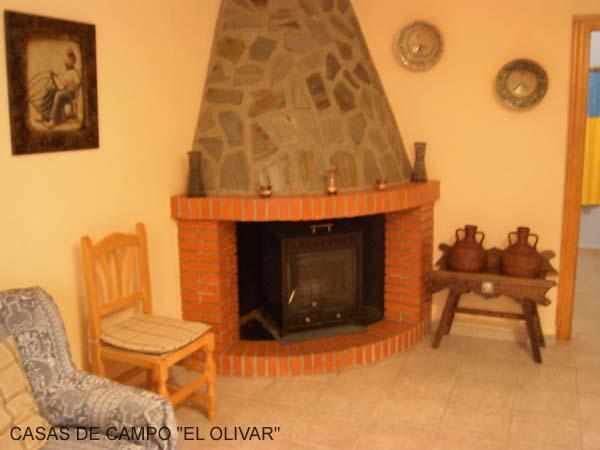 Casa de campo los olivos equipamiento - Chimeneas rusticas para casas de campo ...